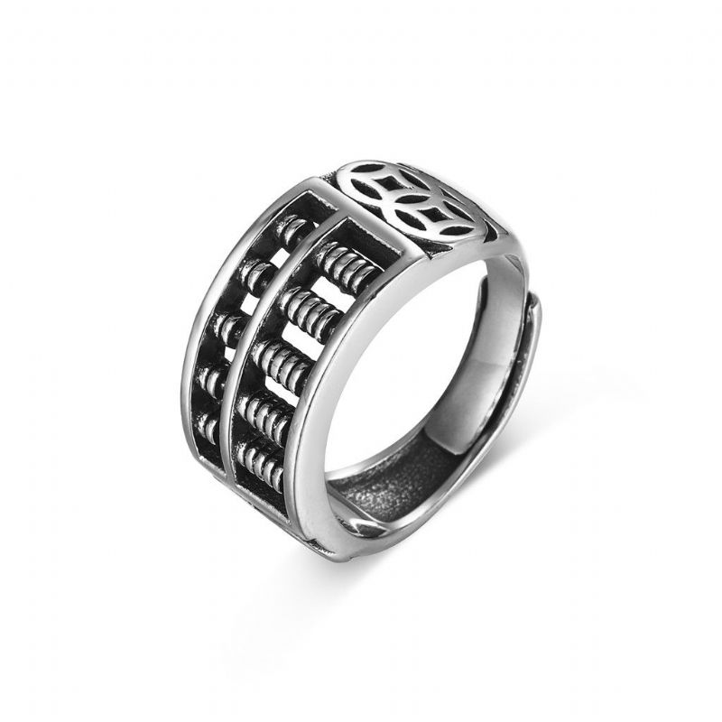 Rope Walk Ring/SILVER 925